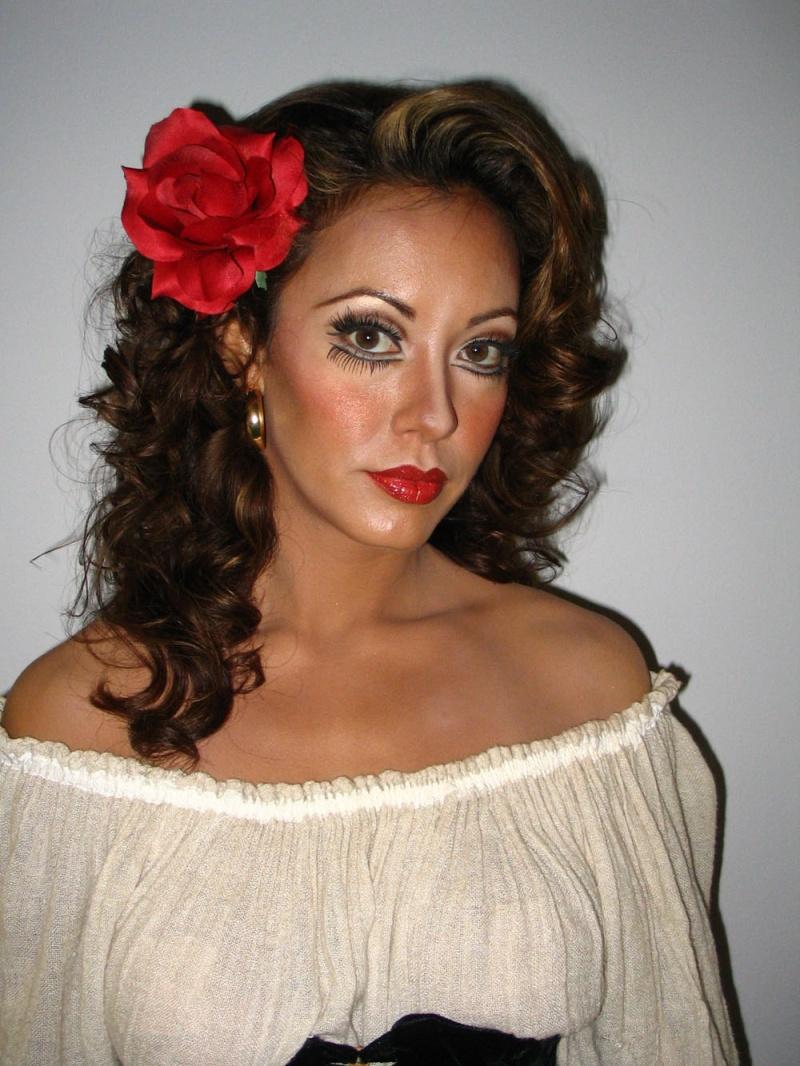 Dec 05, 2006 Opera makeup for Carmen