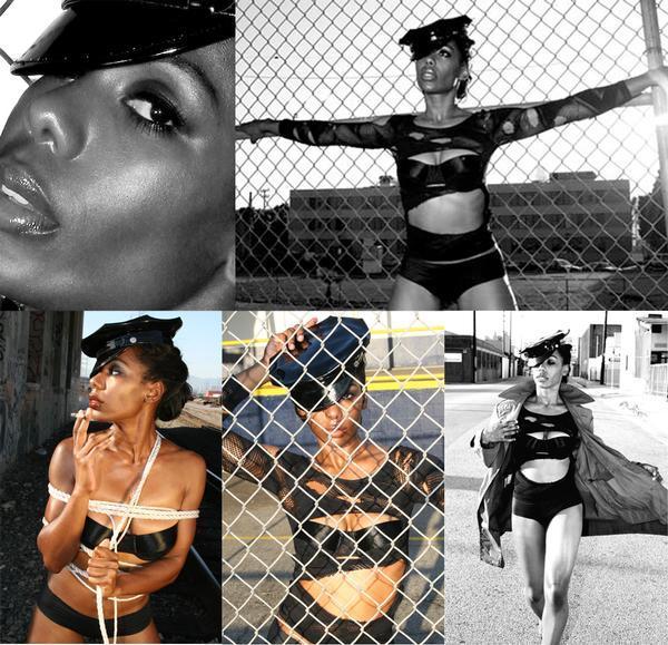 Female model photo shoot of KAJE in Los Angeles