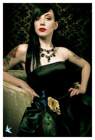 666studio Austin, Texas Dec 09, 2006 666photography Model JaymeFoxx MUA: Lisa Naeyaert