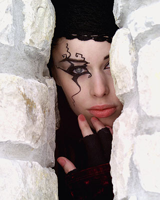 Independence Mo Dec 11, 2006 AndersonArtwork.Com 2005 Between a rock and a hard place....Model and MUA is Karen Keith