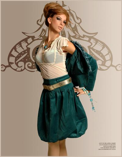 Female model photo shoot of PolinaR