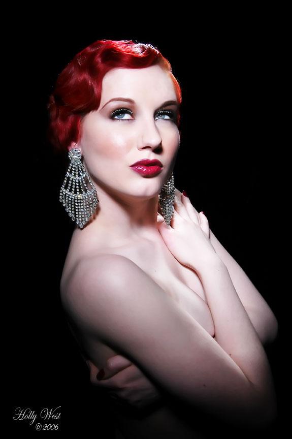 Dec 16, 2006 Model: Angela Ryan - MUA: Tony Cupstid