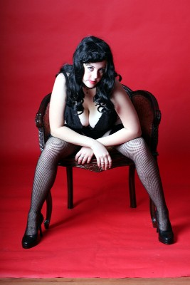 Female model photo shoot of Sinister Visions by Kate OBrien Creative