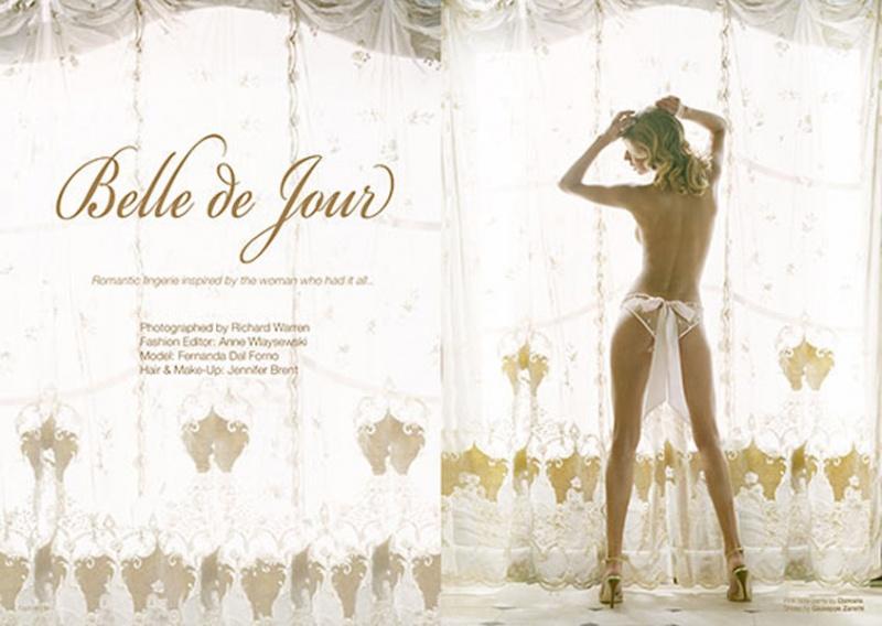 Dec 18, 2006 C Belle de Jour lingerie story European mag 2 of 14 pages