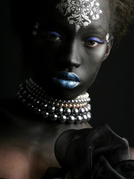 Red Door Photography Dec 22, 2006 Make-Up Olga Sch./ Photographer RDSPhill Beauty Blue