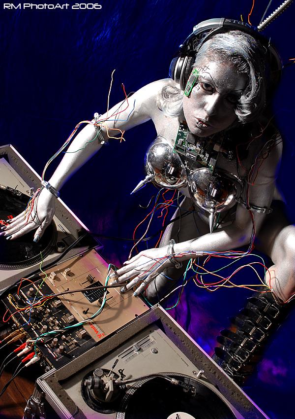 Connecticut Dec 26, 2006 RM PhotoArt 2006 Robot DJ