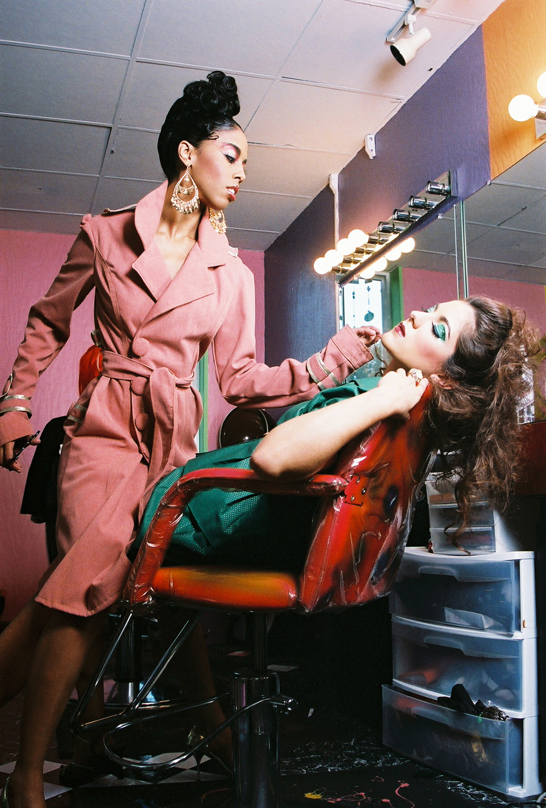 COLORS HAIR STUDIO Dec 26, 2006 2006 BEP  ATLANTA MAKEUP PIONEERS: MODELS BEA & NICOLE