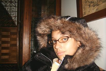 Female model photo shoot of KeeAira in My house