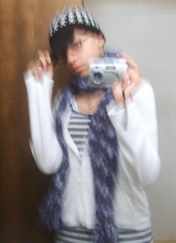 Female model photo shoot of KeeAira in Bathroom