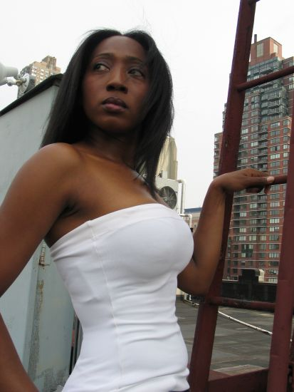 Female model photo shoot of Tiffany Stage in Midtown NY