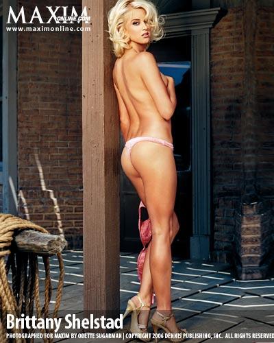 Holly Wood Dec 30, 2006 Maxim mag / Odette Sugarman Tear Sheet