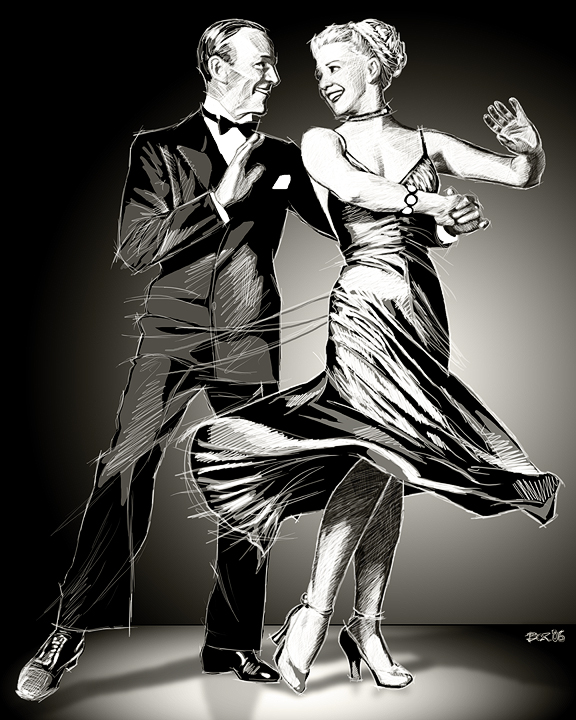 www.odysseyart.net Dec 31, 2006 © Odyssey Art Fred Astaire and Ginger Rogers