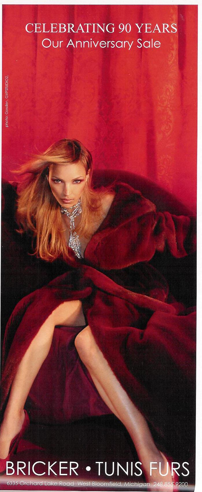 Jan 04, 2007 Photographer: Gosden Ad in Ambassador Magazine