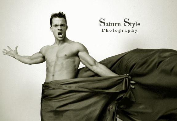 Male model photo shoot of Sam Coy in Marie Saturn Studios