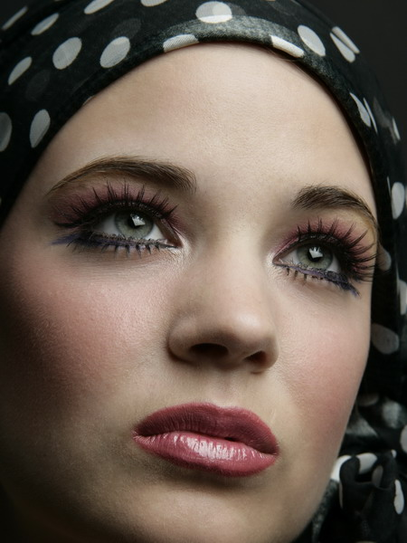 Female model photo shoot of Clair Loran by Orlando Perez in Costa Mesa, CA, makeup by Jeanne San Diego