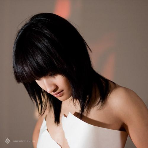 Female model photo shoot of Christine Eris by BOURNE--