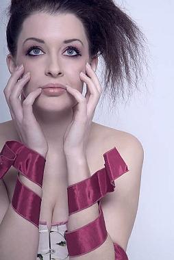 Female model photo shoot of Elen Miao by Katherine Jones in Punctum Studios, Newport