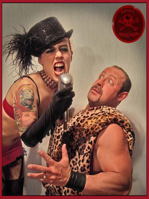 Gotham Jan 25, 2007 Gothic Hangman #64901 SHOW STOPPER! w/Lil Darling #20671