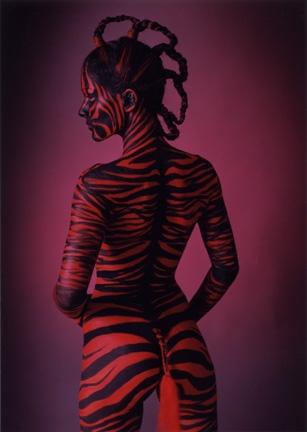 Studio Jan 26, 2007 Clint Adam Smyth Zebra Girl