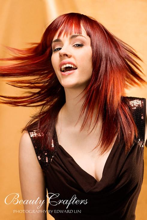Jan 29, 2007 Edward Lin Photography 2007 Patty G. / Hair by Liz S. / Makeup by Sarah