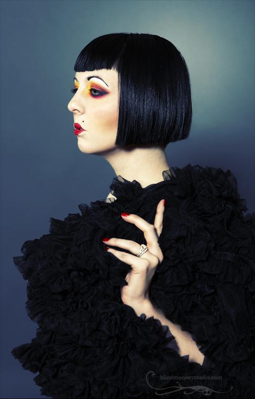 Blind Monkey Studio Jan 29, 2007 Blind Monkey Studio, 2007 Model: Scarlett  Makeup: PeggLeggMegg  Hair & Style: In Vain