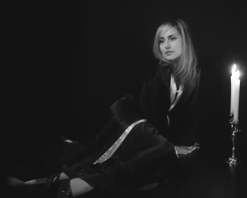 Female model photo shoot of Fabulous von Vette in RRC Studio, Toronto (ON) Canada