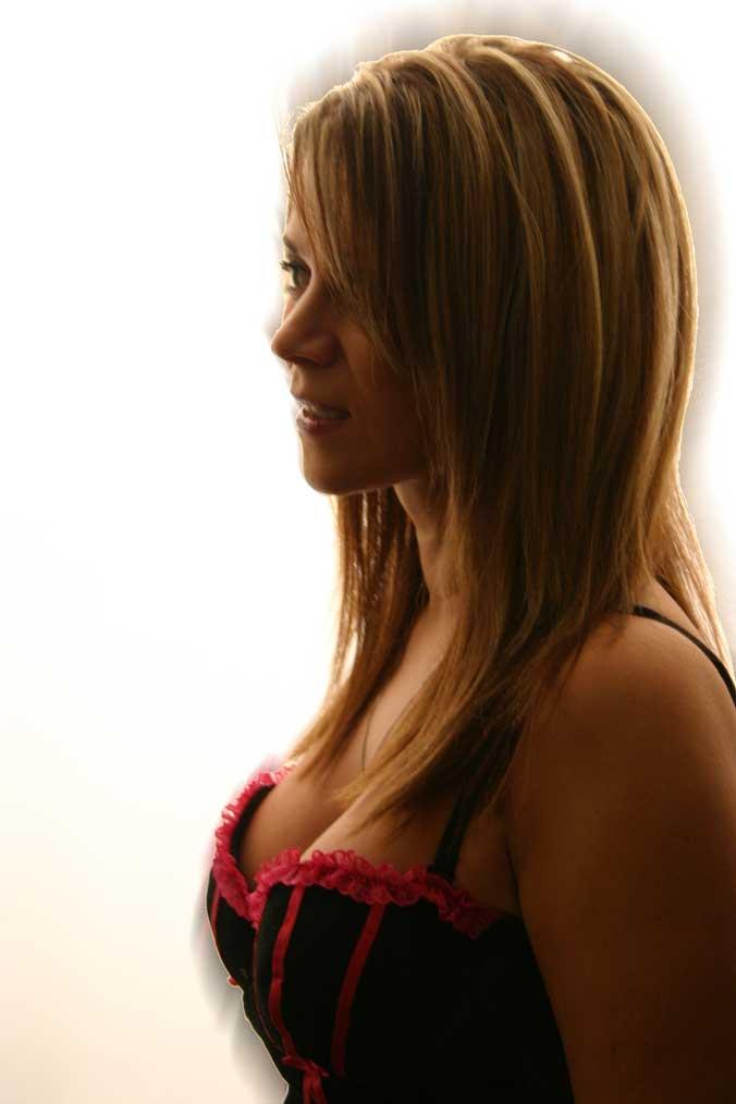 Female model photo shoot of Meadow Soprano