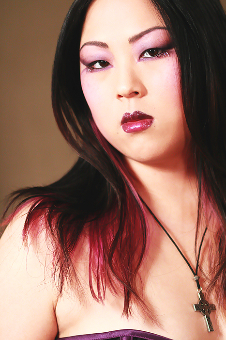 Female model photo shoot of Grace Face by Art Wraith Images in Emeryville, makeup by Lauren Warner