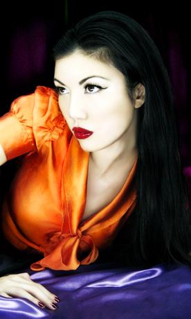 New York Feb 02, 2007 Jhane Hoang model: Amy