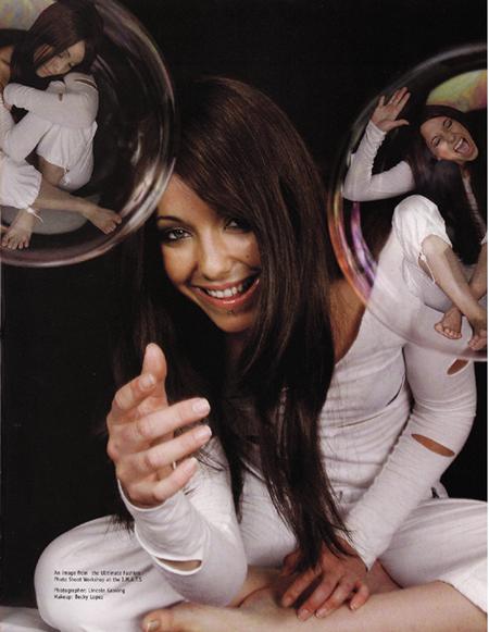 Feb 04, 2007 Photographer: Lincoln Gasking  MUA: Becky Lopez MakeUp Artist Magazine