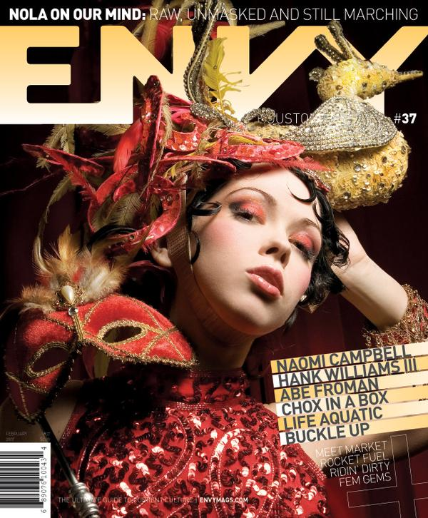 Feb 05, 2007 envy mag, lithium picnic Envy- Houston cover, feb 2007