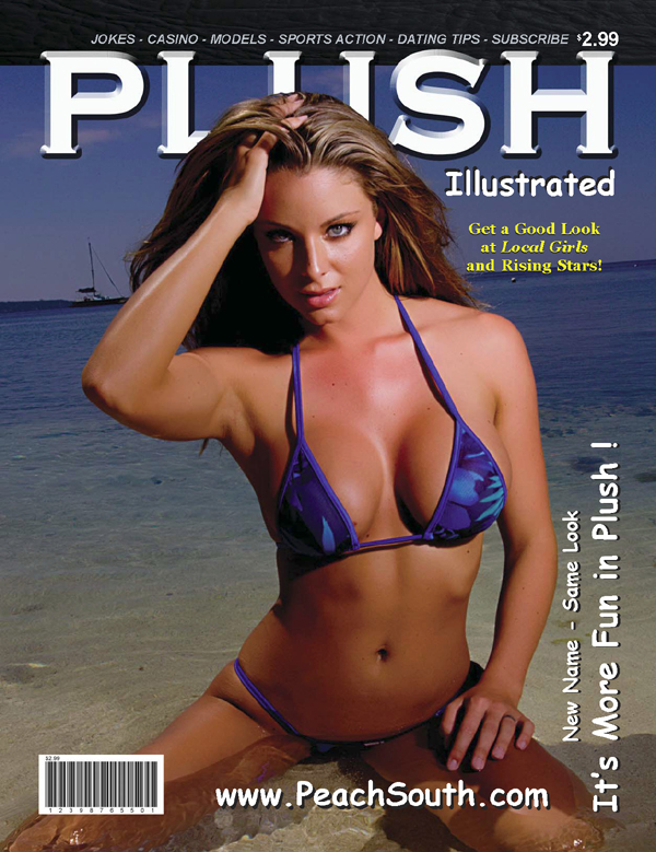 Feb 08, 2007 Plush Illustrated Magazine Cover March 07 ~ Model, Ashley Kimel ~ Photography, Chad Martel