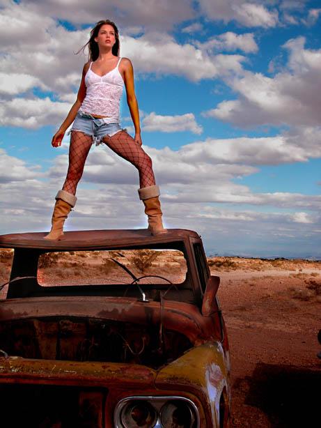 Las Vegas Desert Feb 11, 2007 www.BillyPegram.com Amanda