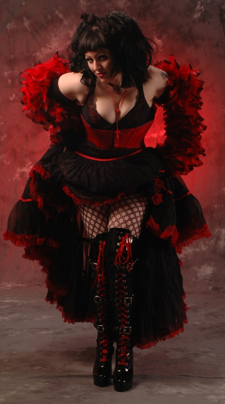 Female model photo shoot of coffin_girl in Rochester
