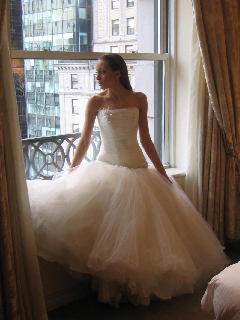 Female model photo shoot of YAUNA in Penisula Hotel in New York City
