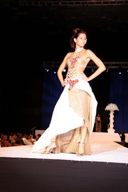 Sir Garfield Sobers Gym, Barbados Feb 18, 2007 Michelle Bayley Absolute Vodka Fashion Show