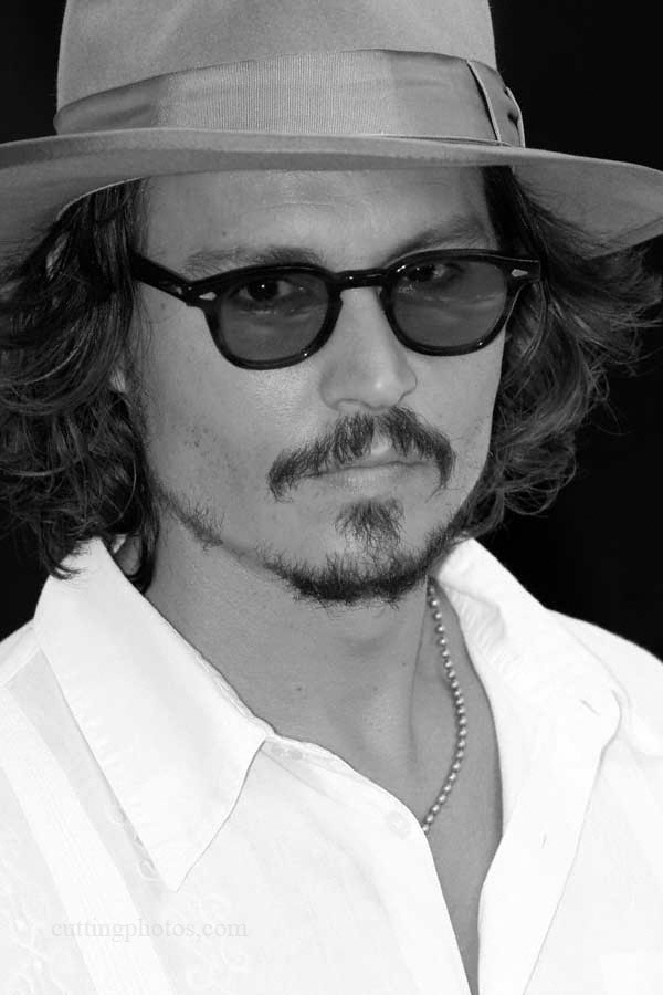 London Feb 20, 2007 Jack Cutting Johnny Depp
