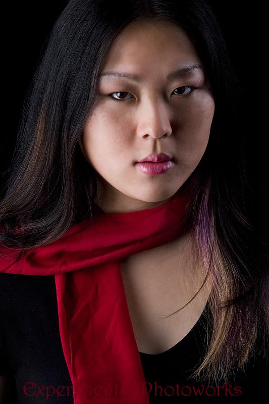 Female model photo shoot of Grace Face by Sockpuppet Studios  in Fremont - Len Cook's  Studio