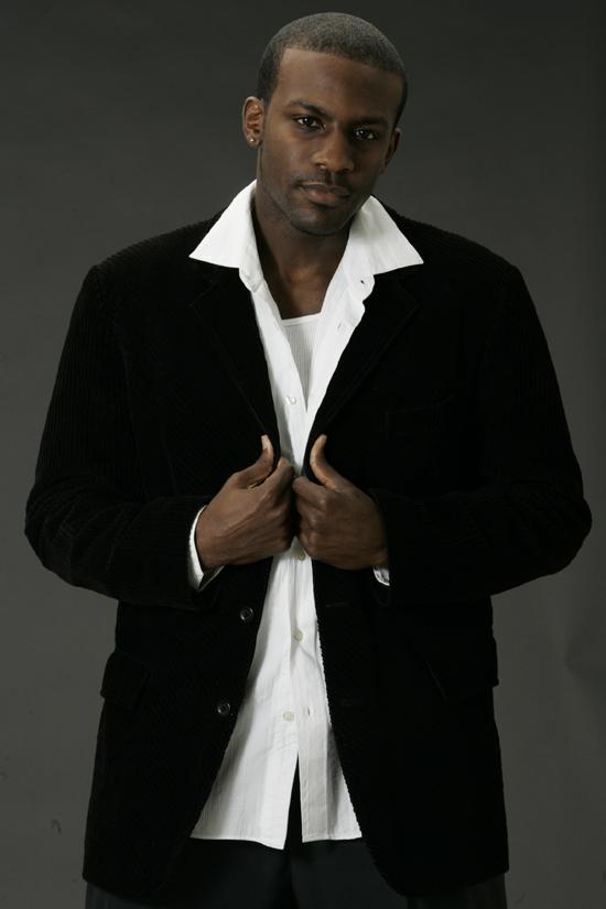 Male model photo shoot of Ernest Demetrius by John Pringle, clothing designed by Ana Segura