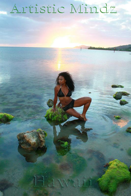 Male model photo shoot of Artistic Mindz in Hawaii