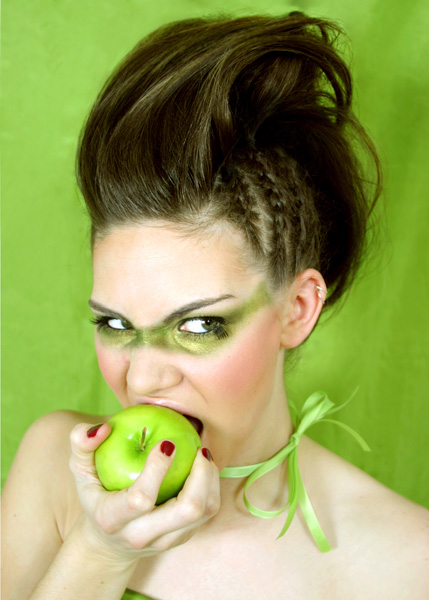 Female model photo shoot of Jocelyn Hair and Makeup