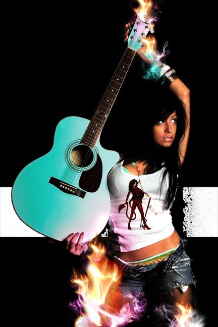 Tempe AZ Mar 01, 2007 Eye Behold Photography Dre is on fire....
