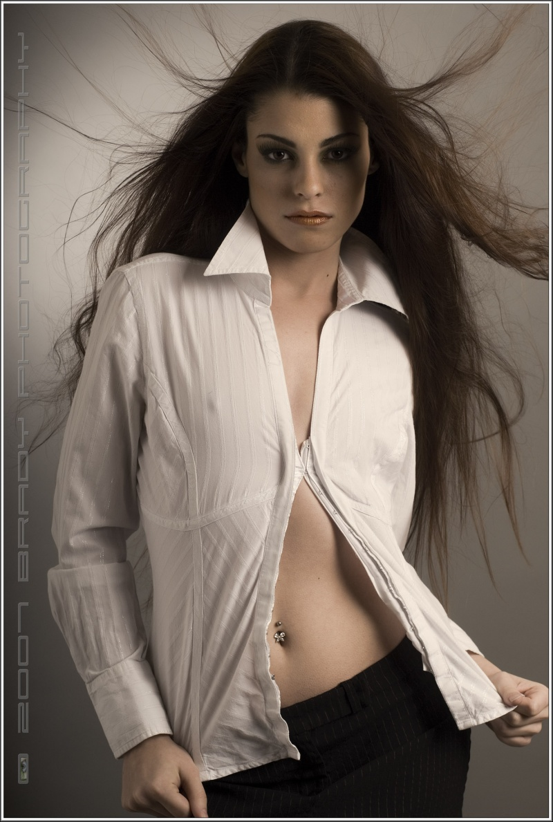 Female model photo shoot of Jaimes by BradyPhotography I, makeup by KIM REYES Makeup