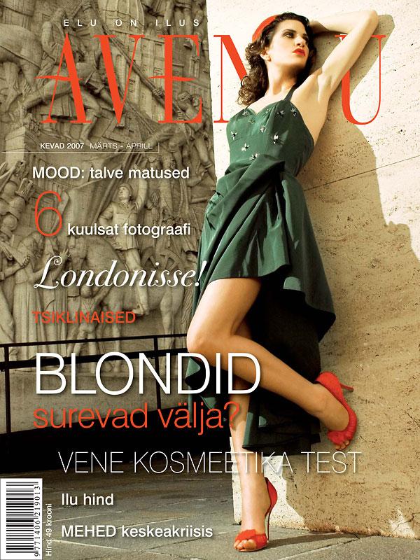 Rome Mar 06, 2007 Avenuu Magazine/Filippo M Caroti Avenuu Magazine Estonia   March/April 07