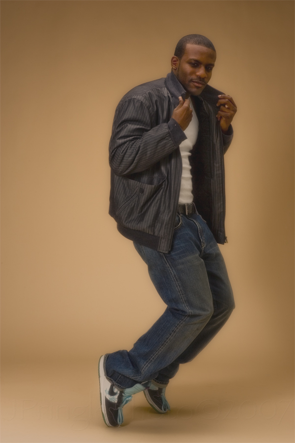 Male model photo shoot of Ernest Demetrius