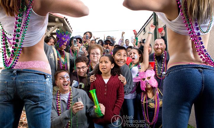 Santa Maria, CA Mar 13, 2007 Mark Velasquez Mardi Gras 2007, or at least thats how it should have been.
