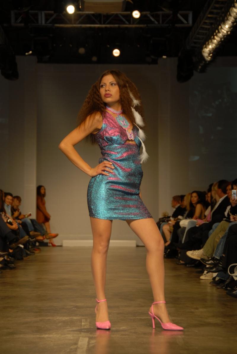 Female model photo shoot of Ms Jones in Loreal Fashion Week-RUNWAY