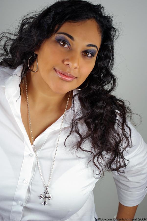 Female model photo shoot of Jaszmine J by Chanel Rene Photo in Corona, Ca, hair styled by Monica hair-mua