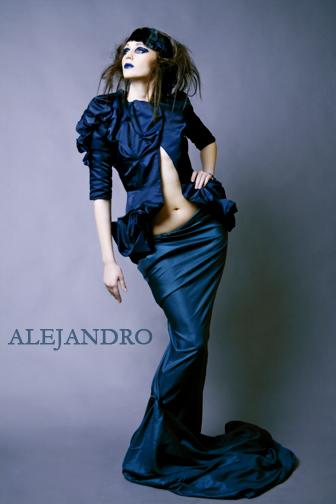 Mar 19, 2007 Alejandro Photography Truly Wicked.  Model: Julia.  Styling: Wicked Styles. Skirt: Lisa Grabowski. Jacket: Shanel Regier