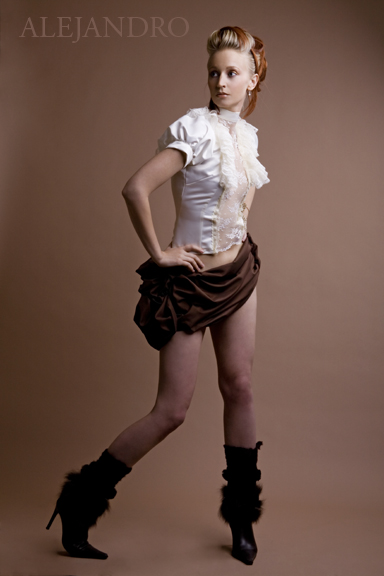 Mar 19, 2007 Alejandro Photography Model: Julia.  Styling: Wicked Styles. Skirt: Lisa Grabowski. Top: Shanel Regier.